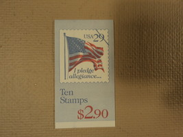 USPS Scott 2593a 29c Pledge Of Allegiance Book Of 10 1992 Stamps Mint Bo... - $11.46
