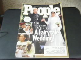 People Magazine - A Fairytale Wedding Cover - June 4, 2018 - $6.92