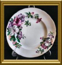 "Tuscan Bone China Salad Plate in the ""Azalea"" pattern - $12.00"