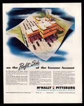 Original 1945 McNally Pittsburgh Industrial  Coal Processing Equipment P... - $9.49
