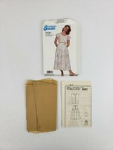 Vtg Simplicity 8581 Womens Misses Top & Skirt Sewing Pattern 1988 Sizes ... - $8.55