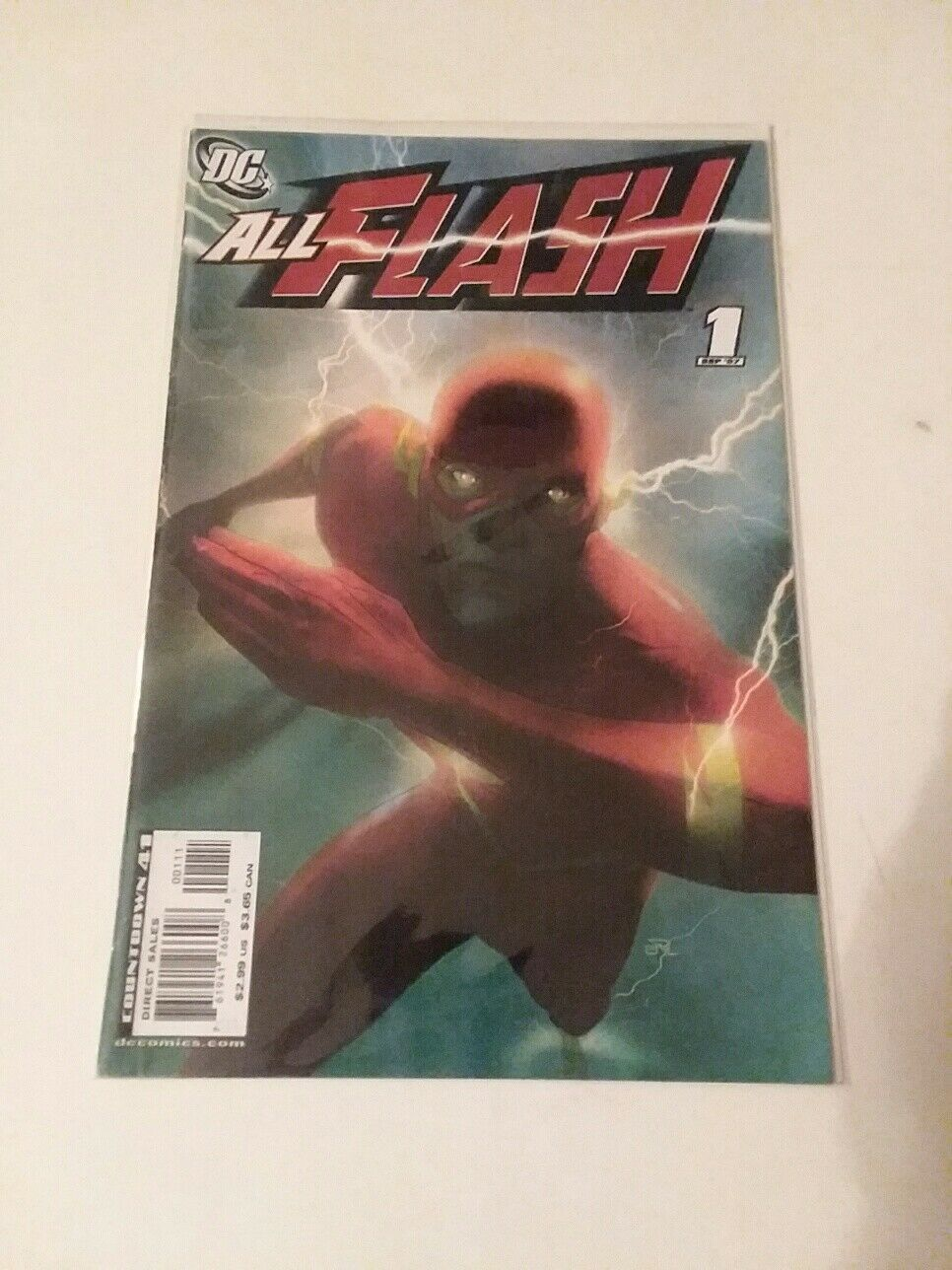 VIBE #1 AND #5 - NEW 52  FIRST RUN + ALL FLASH #1 - FREE SHIPPING