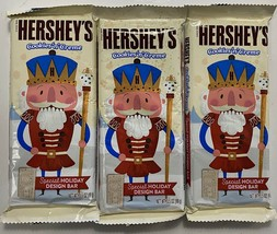 Hershey's Cookies N Cream 3.5 Oz Special Holiday Design Bar Nutcracker 01-21