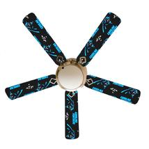 """Carolina Panthers 52"""" Ceiling Fan with Lamp - $128.99"""