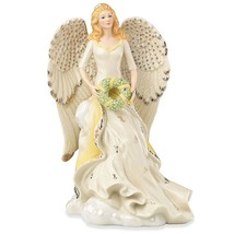 Lenox 2016 Millennium Angel Figurine Angelic Honor Wreath Strength Christmas NEW - $178.20