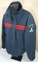 VTG Nautica Jacket Windbreaker Yacht Sailing Colorblock 90's Spell Out XL - $42.49
