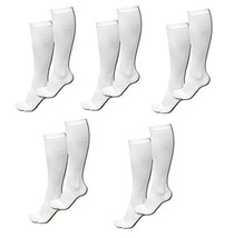 Miracle Compression Socks White Small/Medium - £20.04 GBP