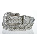 50116 Women's Cowgirl Style Western Belt with Rhinestones and Studs (38,... - $32.95