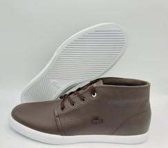 $130 LACOSTE Asparta 319 1 P CMA Dark Brown Sneaker Shoes [Men's Size 13] - $73.25