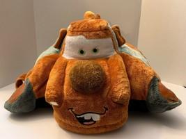 Disney Pixar Cars Tow Mater Pillow Pet 18 Inch Plush Pillow - $16.82