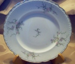 "VOGUE SUSANNA PATTERN SALAD PLATE 8 1/8"" 1957 MINT - $16.99"
