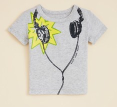 Bloomie's Infant Boys' Headphones T-Shirt, Gray, Size 9 Months, $32 - $12.86