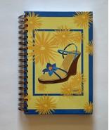 Spiral Notebook / Journal / Dairy - Blue Shoe Design - $5.95
