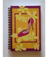 Spiral Notebook / Journal / Dairy - Pink Shoe Design - $5.95