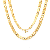 """Cuban Chain 18kt Gold Plated Necklace 24"""" long - $20.00"""