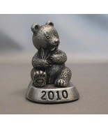 Pewter Miniature Panda Bear Figurine   2010 - $9.90
