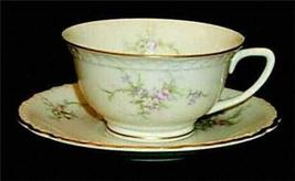 VOGUE SUSANNA PATTERN 1957 CUP & SAUCER SET RARE MINT - $24.95