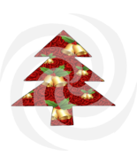 Christmas Tree 10t-Digital ClipArt-Gift Tag-Holiday-Background-Gift Card.  - $4.99