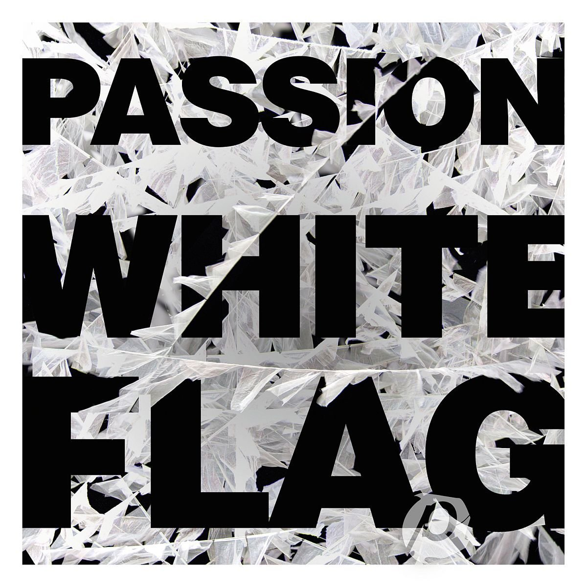 Passion white flag by various artist