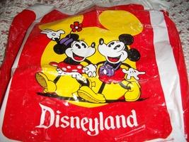 Vintage Disneyland Plastic Souvenir Shopping Bag - $25.00