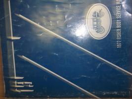 1977 Chevy BEL AIR IMPALA VEGA SCOOTER MONZA Body Service Shop Repair Ma... - $31.91