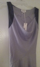 Ladies Diesel Gray Tie Back Cowl Neck Top New With Tags  - $26.99