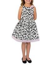 Us Angels - Floral Fit & Flare Dress (Toddler & Little Girl)