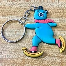 Skating Banana Bear Key Chain - US SELLER - £8.37 GBP