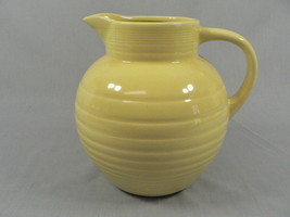 Beverage Water Pitcher by Cooks Club Ball shape Yellow 80 Ozs. +/- - $19.75