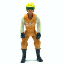 Fisher Price Adventure People action figure toy 1974 male motorcycle rid... - $19.07