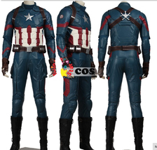 Top New Captain america 3 civil war steven Rogers Outfit adult costume Superhero - $758.15