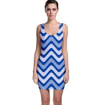 Sexy Wavey Zig Zags Tight Fitted Bodycon Dresses - Size & Sleeve Options - $29.09+