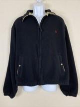 Polo Ralph Lauren Men Size XL Black Fleece Softshell Jacket Full Zip - $27.00