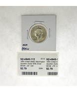 1964 United States Washington Quarters Dollar 90% Silver RATING: (F) Fin... - €2,46 EUR