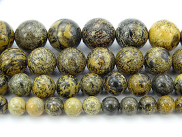Natural Artistic Jasper Gemstone Round Spacer Beads 15.5'' 4mm 6mm 8mm 1... - $4.31+