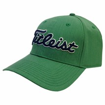 NEW! TITLEIST Unisex Performance Heather Fitted Hat-Green/Navy [M/L] - $59.28