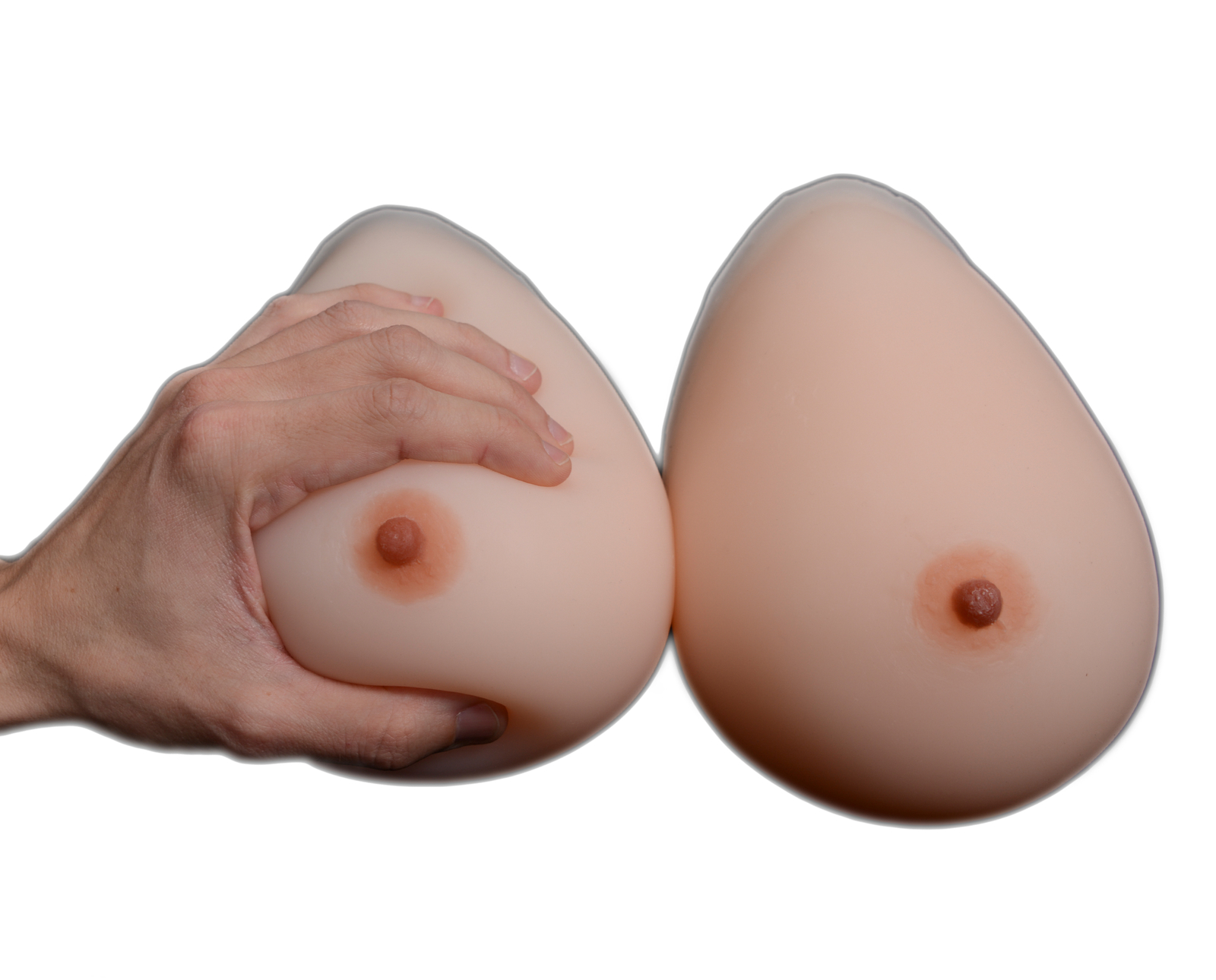 Primary image for Realistic SILICONE BREAST FORMS Mastectomy Crossdresser Transvestites Size:6 (L)