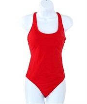 J Crew Bow-Back One-Piece Swimsuit Bathing Suit Red Sz S G5824 - $36.79