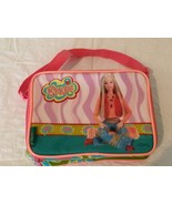 Thermos Barbie Soft Side Lunch Box Bag with Shoulder Strap and Carry Han... - $6.99