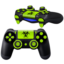 Biohazard design PS4 Controller Full Buttons skin  - $10.50