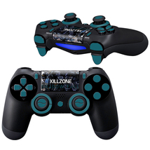 Killzone Shadow Fall design PS4 Controller Full Buttons skin  - $10.50