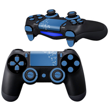 Arithmetic Blue design PS4 Controller Full Buttons skin  - $10.50
