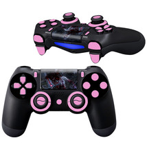 Zombi Pink design PS4 Controller Full Buttons skin  - $10.50