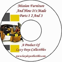 Vintage Book Of Mission Furniture And How to Make It On CD Parts 1 2  3 - $7.50