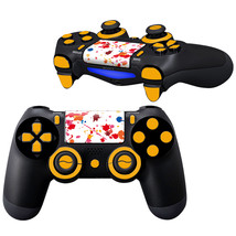 Multicolor design PS4 Controller Full Buttons skin  - $10.50