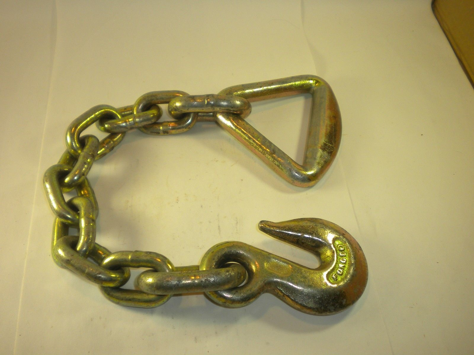 Primary image for 3/8 x 19 Chain anchor with Delta ring hold down