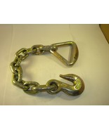 3/8 x 19 Chain anchor with Delta ring hold down - $14.85