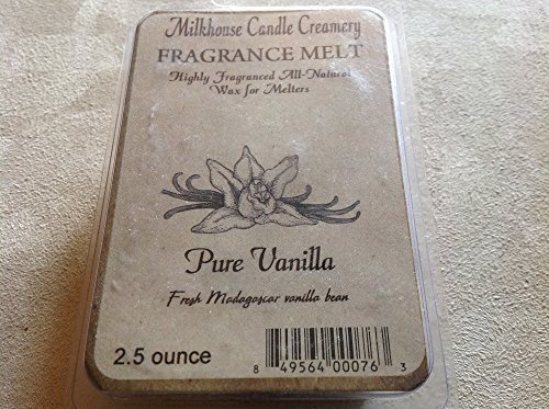 Milkhouse Candle Creamery Soy Beeswax Scented 2.5 Oz. Fragrance Melt (Pure Va...