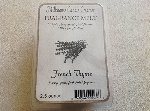 Milkhouse Candle Creamery Soy Beeswax Scented 2.5 Oz. Fragrance Melt (French ...
