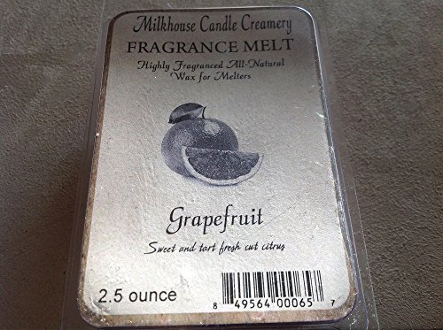 Milkhouse Candle Creamery Soy Beeswax Scented 2.5 Oz. Fragrance Melt (Grapefr...